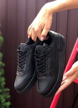 Кроссовки Nike Air Force 1 Shadow Black
