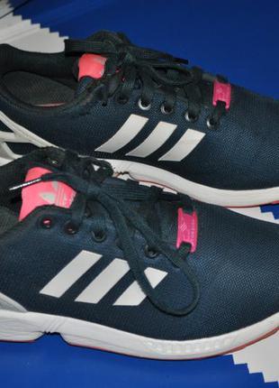 Adidas zx flux женские кроссовки 40 яркие