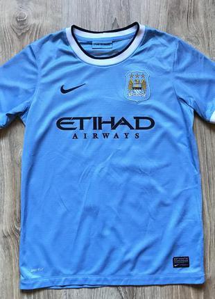 Мужская коллекционная футболка джерси nike manchester city