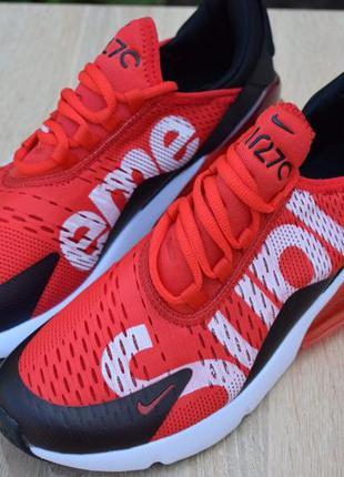 Nike air max 270 supreme, кросівки найк айр макс 270