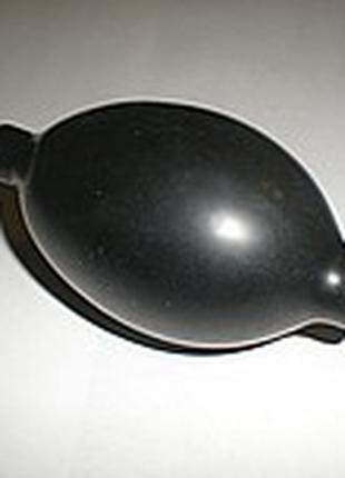 Груша для тонометра с металическим клапаном (латексная), груша