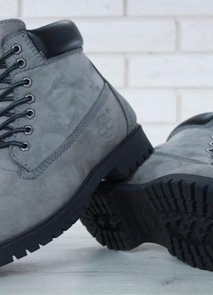🔥новинка🔥мужские зимние \демисезонные ботинки timberland grey....