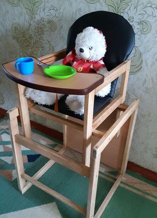 Детский стульчик для кормления для творчества
