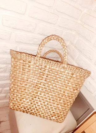 Плетенная сумка