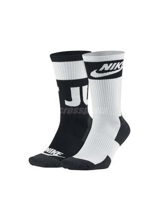 Носки nike nsw 2-pair hbr crew socks оригинал в наличии