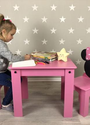 Стол и стул , детский стол, детский стул, комплект мебели