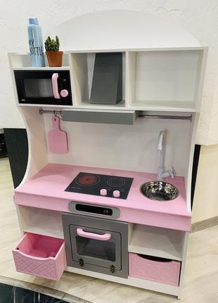 Детская игровая кухня, кухня для девочки, игровой набор кухня