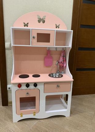 Кухня для девочки, игровая кухня, детская кухня