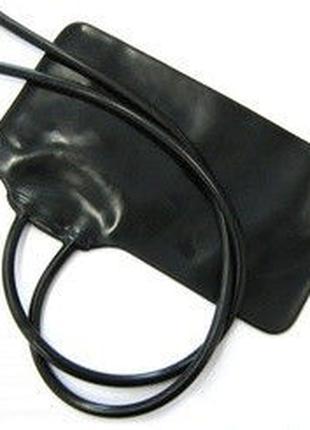 Камера резиновая для манжет с 2 трубками, камера для тонометра