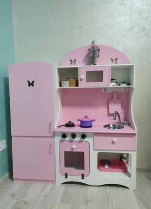 Игровая кухня для девочки, детская кухня
