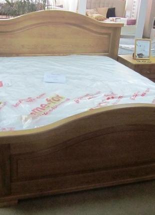Кровать массив дуб от производителя модель Италия