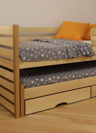 Двоярусне ліжко.Двоповерхове ліжко.БУК.Двухэтажная кровать.80х190