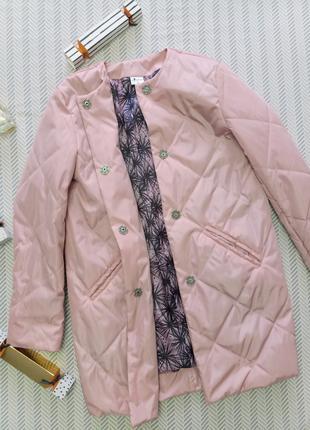 Пальто на девочку Deffchonki