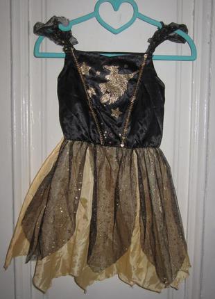 Платье карнавальное 3-4 года.рост 104 см
