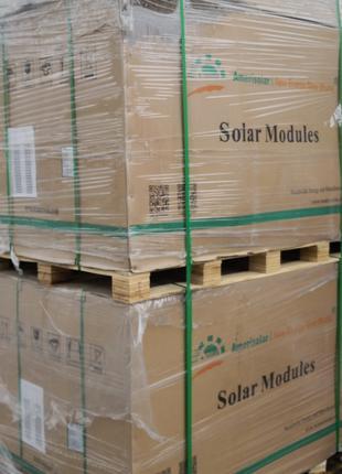 Солнечная батареи AMERISOLAR. Модель 285w 5bb AS-6P30