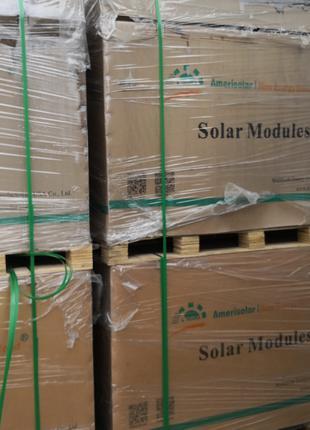 Солнечная панель AMERISOLAR  Модель 285w  для СЭС