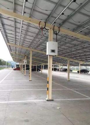 Панели для солнечной электростанции AMERISOLAR. Модель 285w