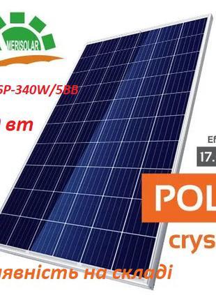 Солнечная панель AMERISOLAR. Модель 285  \ 340  5bb AS-6P30