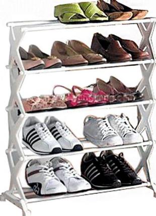 Полка стойка органайзер для обуви 5 полок