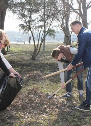 Уборка территории, Земельные работы, Вывоз мусора