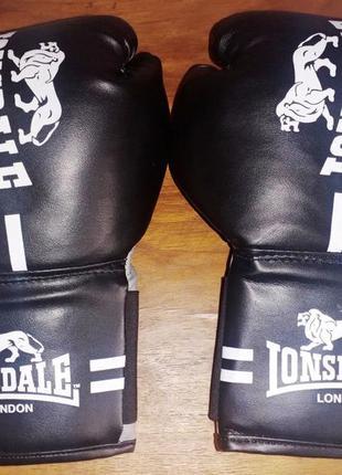 Тренировочные боксерские перчатки lonsdale