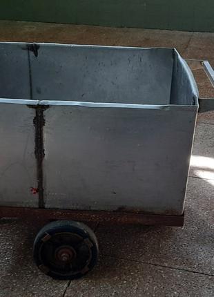 Тележка, рикша, бадья из нержавейки