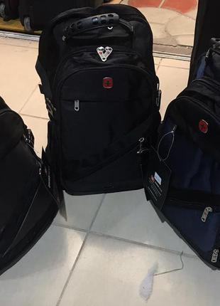 Качественный большой рюкзак мужской, swissgear