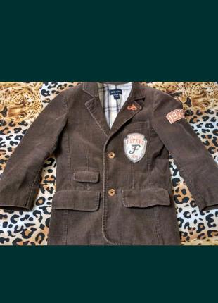 Утеплённый пиджак для мальчика