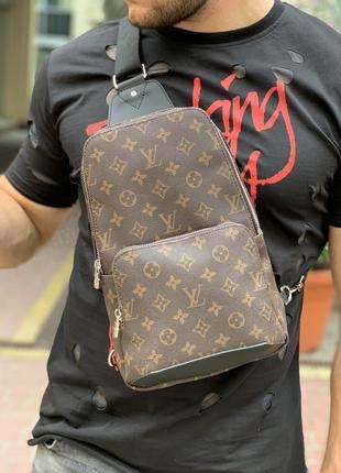 Сумка-слинг Louis Vuitton Avenue Monogram