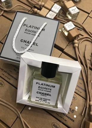 Chanel egoiste platinum 50мл