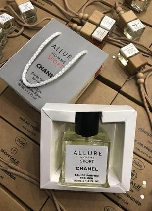 Chanel allure homme sport 50мл