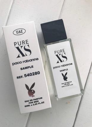 Paco rabanne pure xs с феромонами 60 мл