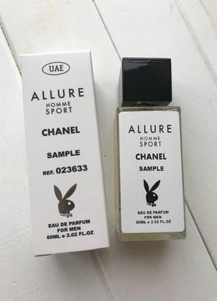 Chanel allure homme sport с феромонами 60 мл