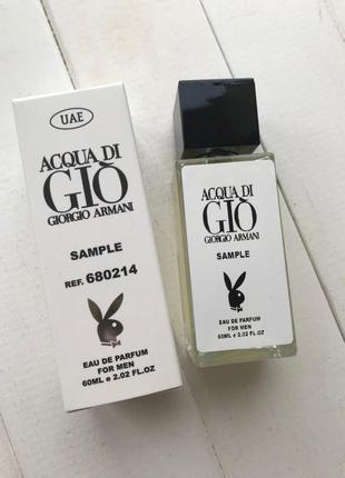 Giorgio armani acqua di gio pour homme с феромонами 60 мл