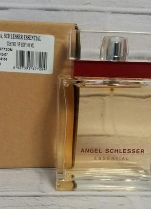 "Angel schlesser essential 100 ml ""edp"" оригинал tester"