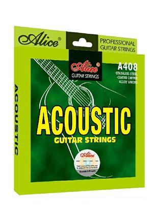 Струны Alice A408 для акустической гитары профессиональные