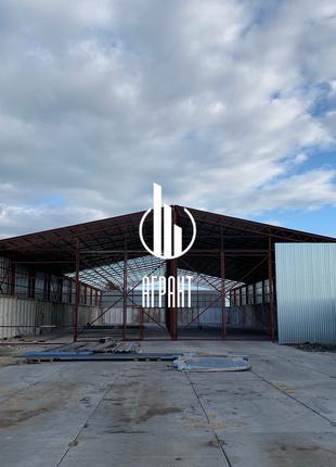 Строительство прямостенных ангаров, навесов, складов.
