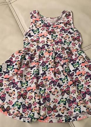 Платье на девочку 2-3 лет