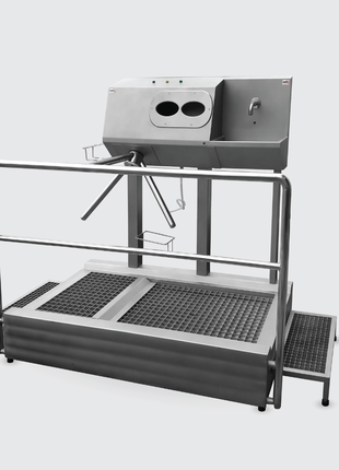 Санпропускник с встроенным бесконтактным умывальником SPG 1110 R