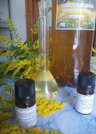 Гідролат, ефірна олія золотарника канадського Solidágo canadensis
