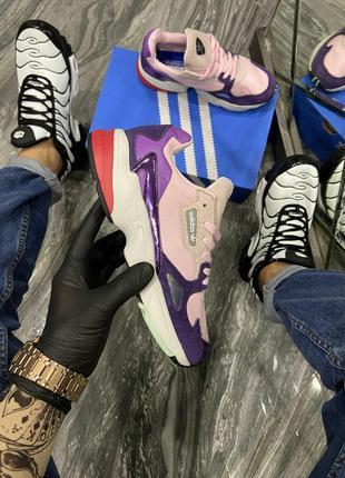 Кроссовки Adidas Falcon Pink Purple White