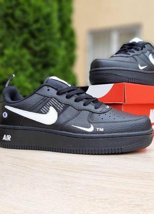 Nike air force 1 mid lv8 черные