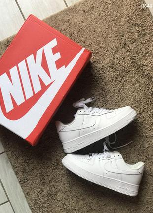 Кроссовки Air force 1 low white