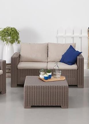 Комплект садовой мебели Allibert California 2 Seater Set