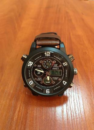 Мужские наручные часы AMST Sport Brown