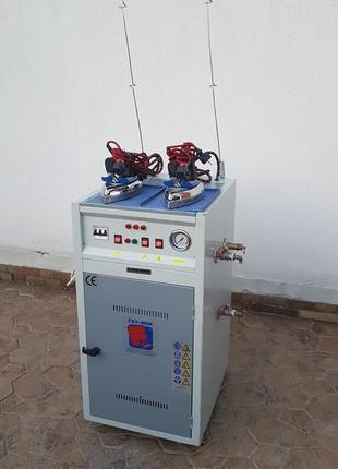 Промышленный парогенератор на два утюга