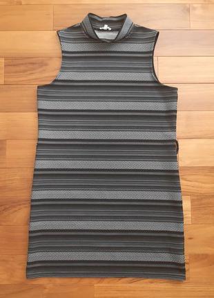 Платье прямого кроя без рукавов river island