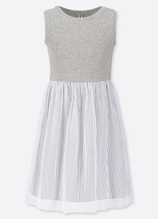Платье котон-фатин uniqlo, 13 лет