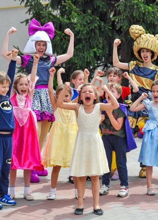 Детский день рождения Днепр, аниматоры Днепр, в сад и школу Днепр