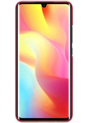Чехол Nillkin Matte для Xiaomi Mi Note 10 Lite (Красный)